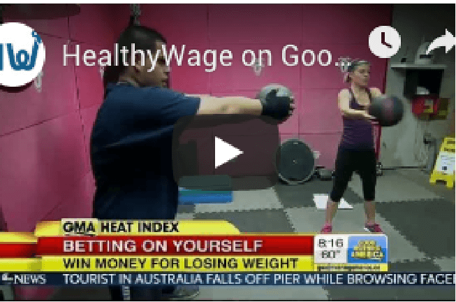 Good Morning America recently featured HealthyWage
