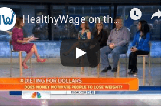 HealthyWage has been featured on NBC's Today Show a total of three times!